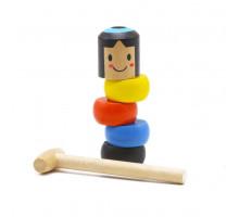 DARUMA TOY - игрушка которую не победить, игрушка-пирамидка Magic Bob