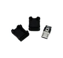 Разъем MicroUSB 5-ти контактный папа Micro-USB