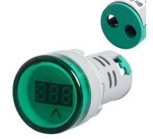 Вольтметр индикатор AC60-500V, 60-500В 22мм на панель щита