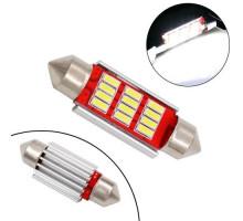LED C5W C10W CANBUS 41мм лампа с обманкой, 12 SMD