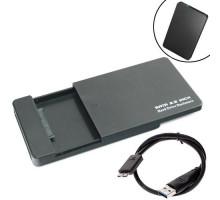 Внешний 2.5 USB 3.0 SATA Карман жесткого диска с выдвижной крышкой
