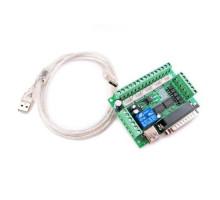 Интерфейсная плата с опторазвязкой на 5 осей ЧПУ