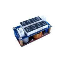 Понижающий преобразователь напряжения DC-DC + амперметр + вольтметр