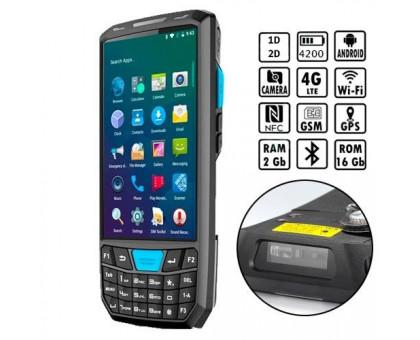 Терминал сбора данных 2D Android 8.1 Wi-Fi 4G Honeywell N6603 + Док-станция