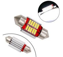 LED C5W C10W CANBUS 39мм лампа с обманкой, 3 SMD