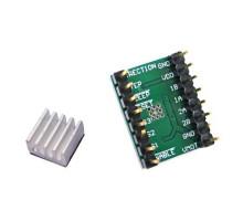 Драйвер шагового двигателя A4988, RAMPS, Arduino