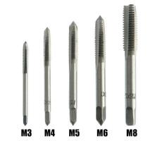 Набор из 5 метчиков для нарезания внутренней резьбы M3 M4 M5 M6 M8