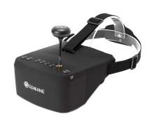 FPV видео шлем очки 5.8G 40CH RaceBand 5