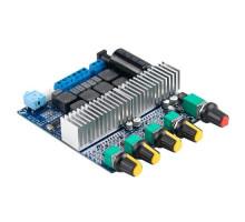 Аудио усилитель мощности звука 2.1ch 2x50Вт+100Вт Bluetooth 5.0 TPA3116