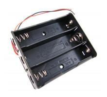 Бокс на три 18650 батареи, 11.1 В, питание Arduino