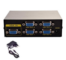 VGA сплиттер, разветвитель на 4 порта 150МГц 30м