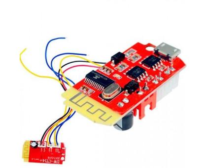 Аудио усилитель Bluetooth мощности звука 2х3Вт MicroUSB DW-CT14
