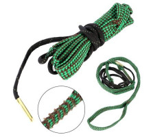 Протяжка шнур змейка для чистки ствола оружия 5.56мм калибра