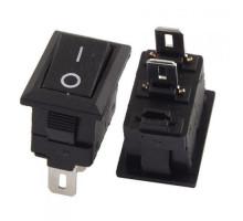 Переключатель, тумблер, выключатель питания KCD1-11 250В 3А