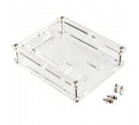 Корпус, кейс для Arduino Uno R3, прозрачный