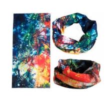 Бафф бандана-трансформер, шарф из микрофибры, осень1