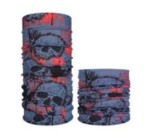 Бафф бандана-трансформер, шарф из микрофибры, индейская тематика