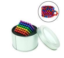 Неокуб конструктор головоломка магнитные шарики, цветной